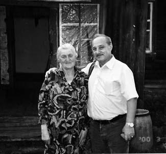 Геннадий Сахрай с Валентиной Силиной.