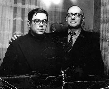 Вениамин Миндлин и Ефим Златкин.