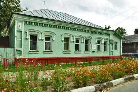 Один из дореволюционных домов в Краснополье.