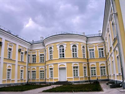 Дворец Потемкина в Кричеве.