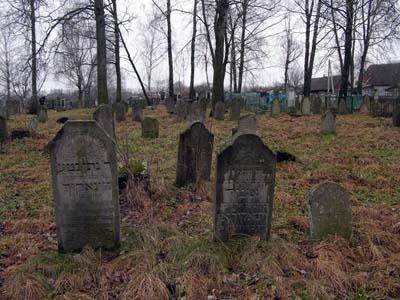 Кричевское еврейское кладбище.