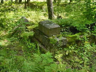 Еврейское кладбище местечка Круча.