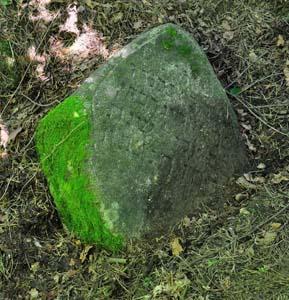 Последняя сохранившаяся мацева на старом еврейском кладбище в Любоничах.
