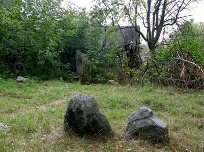 Еврейское кладбище местечка Милославичи.