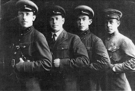 Братья Гречаниковы. 18 августа 1938 г.