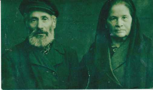 Самуила Черняка и его жена.