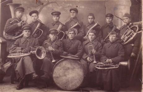 Музыкальный взвод.