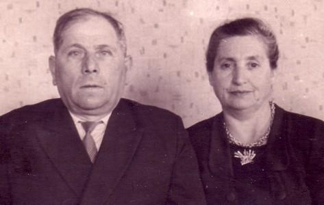 Отец и Раиса Яковлевна. 1960 г.