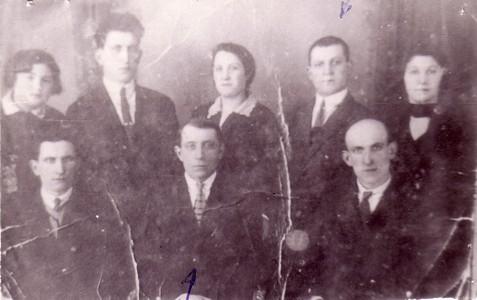 Семья Горловских.