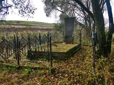 Памятник на месте расстрела евреев местечка Шамово.
