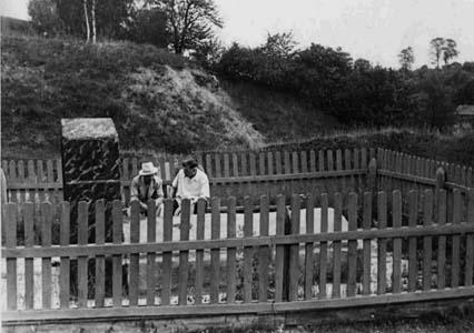 Братская могила в Мстиславле.