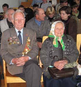 Леонид Тарасович Верещагин и Нина Никитична Аббакшонок.