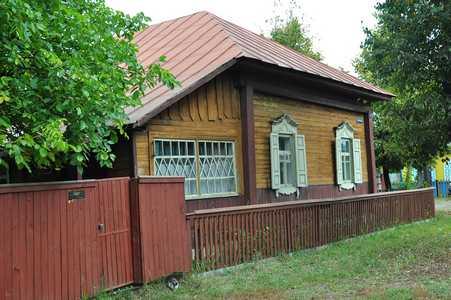 Осиповичи. Старый еврейский дом на улице К.Маркса.