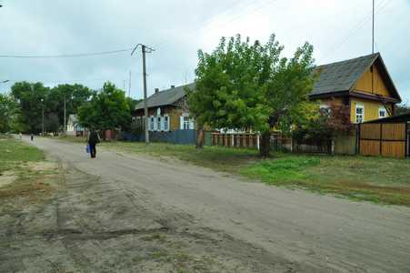 Осиповичи. Улица Чумакова.