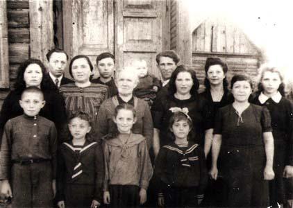 Семейное фото Дудкиных.