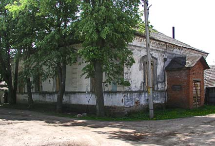 Building of a former prayer house.