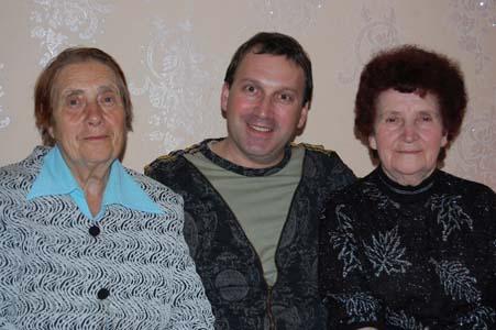 Бронислава Байвер, Юрий Товбин, Ида Крок.