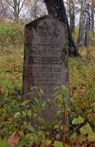 На еврейском кладбище Славгорода.