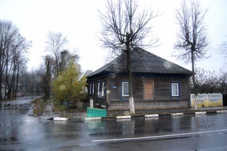 Бывший еврейский дом.